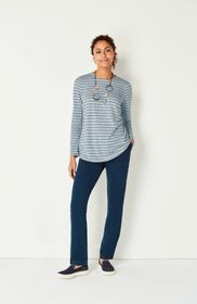 Pure Jill Shirttail Tee