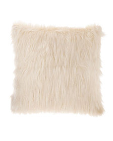 Design Source Faux-Fur Lurex Pillow