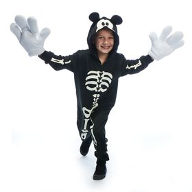 Disney Mickey Mouse Glow-in-the-Dark Skeleton Cost
