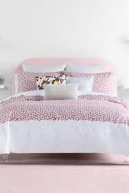 kate spade new york lavender carnation twin duvet