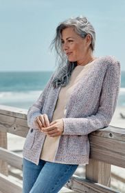 Textured Tweed Cardi