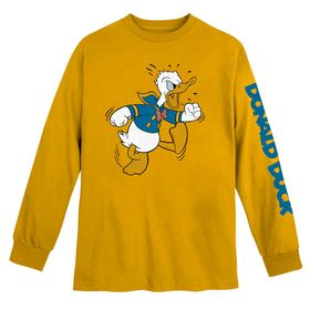 Disney Donald Duck Long Sleeve T-Shirt for Adults
