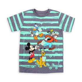 Disney Mickey Mouse and Friends Striped T-Shirt fo