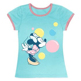 Disney Minnie Mouse Bubbles Ringer Tee for Girls