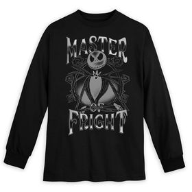 Disney Jack Skellington Long Sleeve T-Shirt for Ad