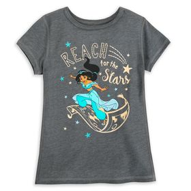Disney Jasmine T-Shirt for Girls – Aladdin – Senso