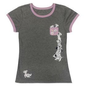 Disney 101 Dalmatians Pocket Ringer T-Shirt for Gi