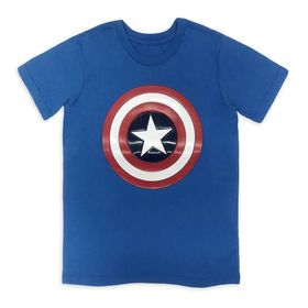 Disney Captain America Shield T-Shirt for Boys