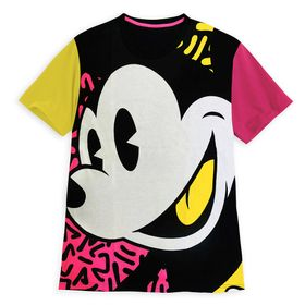 Disney Mickey Mouse Neon Color Block T-Shirt for A