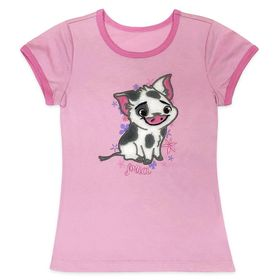 Disney Pua Ringer Tee for Girls – Moana