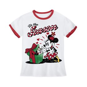 Disney Minnie Mouse and Figaro Holiday Ringer T-Sh