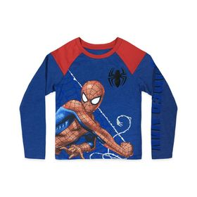 Disney Spider-Man Long Sleeve Raglan T-Shirt for K