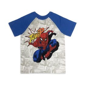 Disney Spider-Man Short Sleeve Baseball T-Shirt fo
