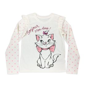 Disney Marie Long Sleeve T-Shirt for Girls – The A