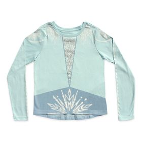 Disney Elsa Long Sleeve T-Shirt for Girls – Frozen