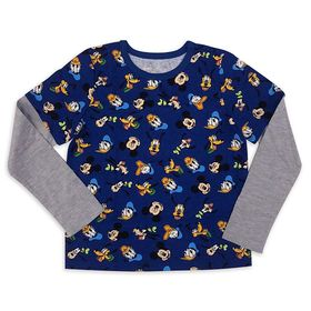 Disney Mickey Mouse and Friends Long Sleeve T-Shir