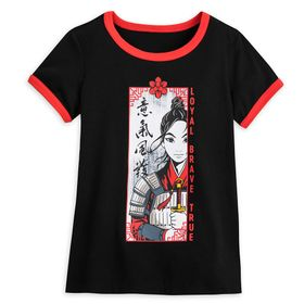 Disney Mulan Ringer T-Shirt for Girls – Live Actio