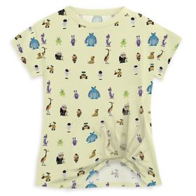 Disney World of Pixar Fashion T-Shirt for Girls