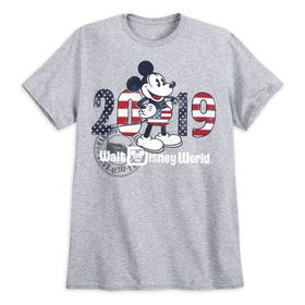 Disney Mickey Mouse Americana T-Shirt for Men – Wa