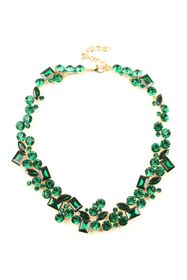 Eye Candy Los Angeles Multi Shape Green Crystal Cl