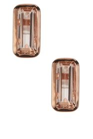 Savvy Cie 18K Rose Gold Vermeil Plated Baguette-Cu