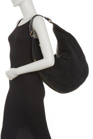 Etienne Aigner Moda Leather & Suede Hobo