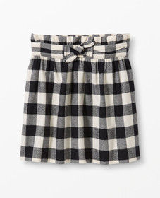Hanna Andersson Buffalo Plaid Flannel Skirt