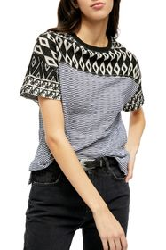 Free People Geo Stripe T-Shirt