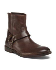 FRYE Men's Leather Harness Boot