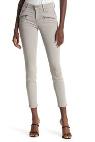 PAIGE Indio Zip Ankle Jeans