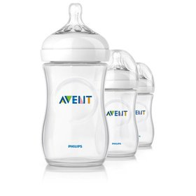 Philips Avent SCF693/37 NATURAL 9oz, 3pk Bottle