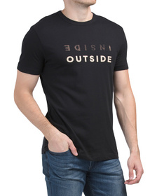 FRENCH CONNECTION Inside Outside Tee