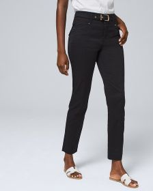 Petite Ultra High-Rise Utility Slim Ankle Jeans