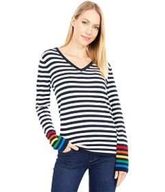 Tommy Hilfiger Ivy Rainbow Striped Sweater