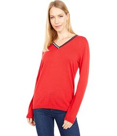 Tommy Hilfiger Placed Stripe Ivy Sweater