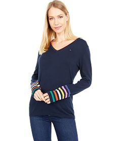 Tommy Hilfiger Ivy Multi Stripe Sleeves