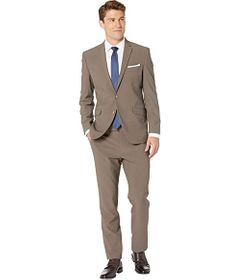 Kenneth Cole Reaction Solid Slim Fit Stretch Perfo