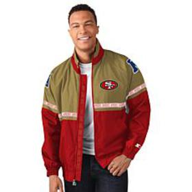 Officially Licensed NFL Starter Academy Full Zip J