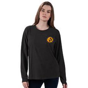 Officially Licensed NFL Women's Vintage Long-Sleev