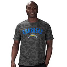 MSX by Michael Strahan Men's NFL Camo Short-Sleeve