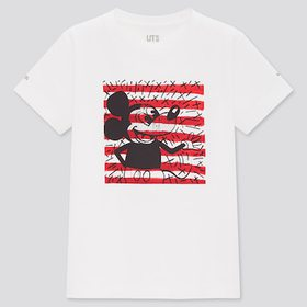 Kids Mickey Mouse X Keith Haring Ut (Short-Sleeve
