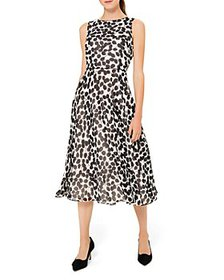 HOBBS LONDON - Carly Leaf Print Dress