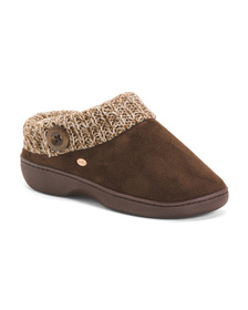 KOOBA Faux Suede Clog Slippers