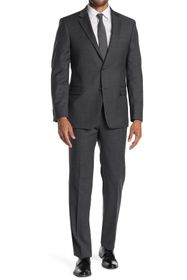 Tommy Hilfiger Two Button Notch Lapel Wool Blend S