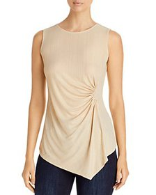 T Tahari - Draped Sleeveless Top