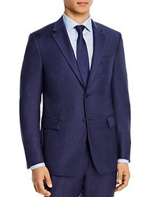 Theory - Bowery Micro-Check Extra Slim Fit Suit Ja