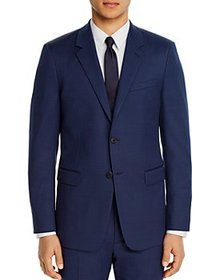 Theory - Chambers Micro-Birdseye Slim Fit Suit Jac