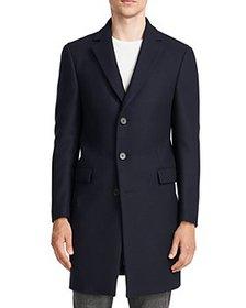 Theory - Chambers Wool Blend Slim Fit Topcoat
