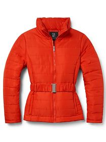 Belted Puffer Jacket - New York & Company
