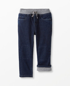 Hanna Andersson Jersey Lined Relaxed Jeans